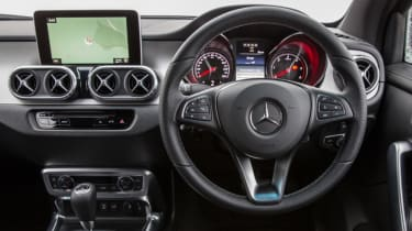 Mercedes X-Class review - interior