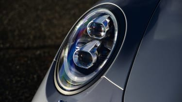 Porsche 911 Carrera 2015 front light detail