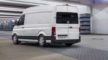 2017 Volkswagen Crafter - rear