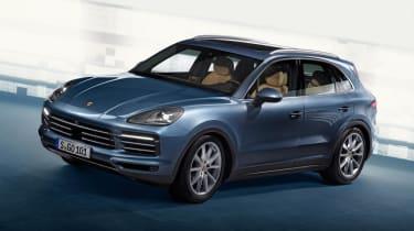 New Porsche Cayenne - front