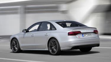 Audi S8 Plus - rear action