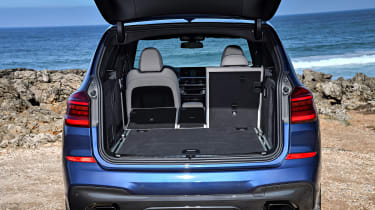 BMW X3 M40i - boot two seats down