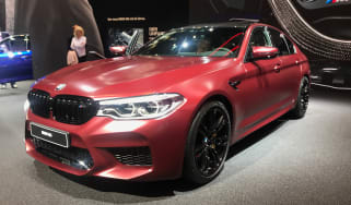 New BMW M5 - front
