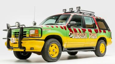 Petersen Automotive Museum - Ford Explorer Jurassic Park - front static