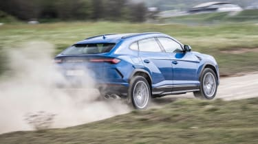 Lamborghini Urus - rear off-road