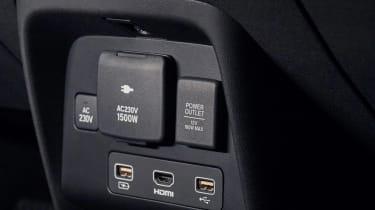 Honda e Prototype - rear interior detail