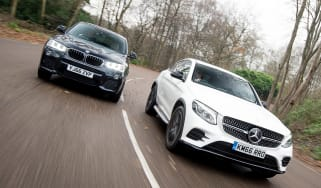 Mercedes GLC Coupe vs BMW X4 - head-to-head