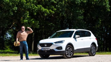 SEAT Tarraco - second report header