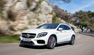Mercedes-AMG GLA 45 - front