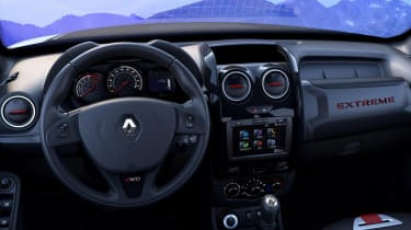 Duster extreme interior