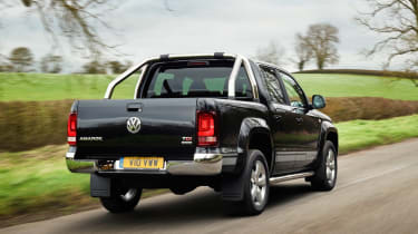 VW Amarok Ultimate 2015 rear