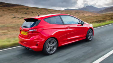 New Ford Fiesta ST-Line - rear action