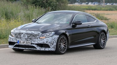 Mercedes-AMG C63 Coupe front side