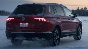 Volkswagen Tiguan rear winter