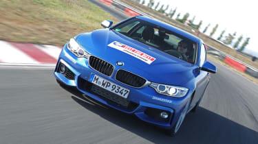 BMW 435i  action