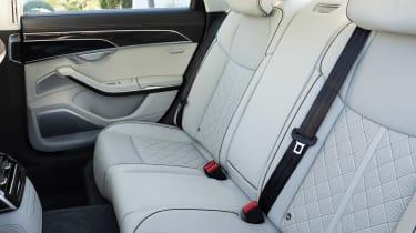 Audi S8 - rear seats