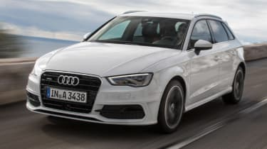 Audi A3 Sportback TFSI front tracking