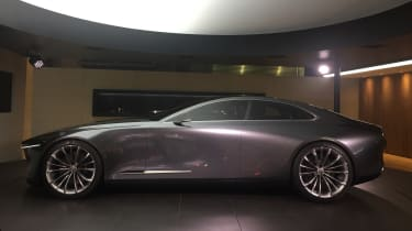 Mazda Vision Coupe concept - side static