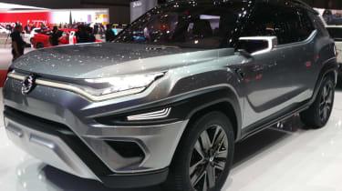 SsangYong XAVL Geneva - front