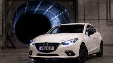 Mazda 3 Sport Black front