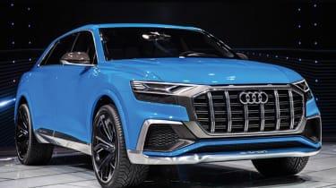 Audi Q8 concept - show front