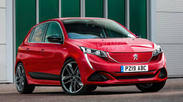 Peugeot 208 GTi - front (watermarked)