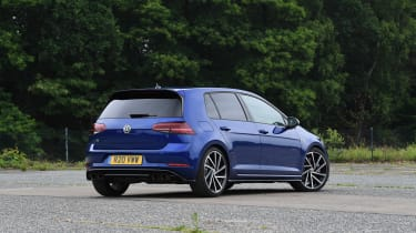 Volkswagen Golf R Performance Pack - rear static