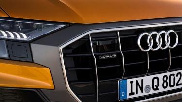 Audi Q8 - grille