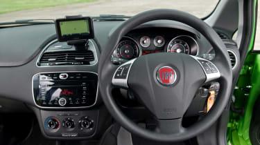 Fiat Punto TwinAir dash