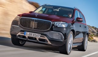 Mercedes-Maybach GLS - front tracking