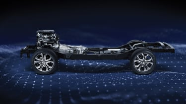SsangYong Rexton chassis