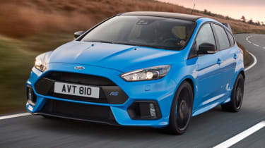 Best performance cars 2017/2018 - Ford Focus RS