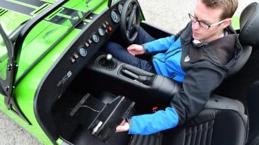 Long-term test review: Caterham 270S - glovebox
