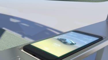 Renault EZ-GO concept - interior detail