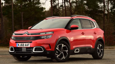 citroen c5 aircross static front