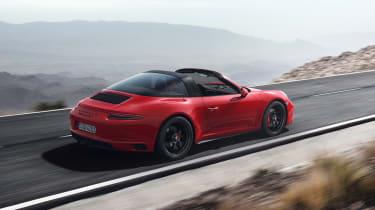Porsche 911 Targa 4 GTS - rear