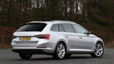 Skoda Superb iV Estate - rear static