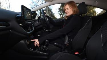 Ford Fiesta vs SEAT Ibiza - Fiesta interior
