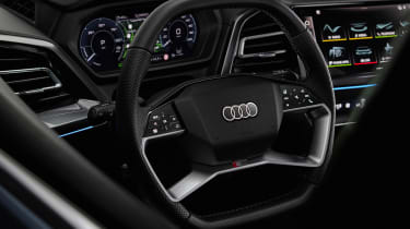 Audi Q4 e-tron prototype - interior
