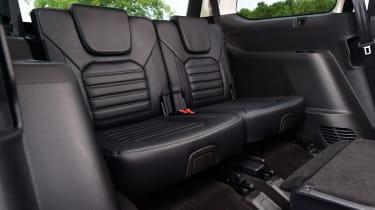 Ford Galaxy - rear seats