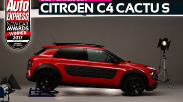 Small SUV of the Year 2017 - Citroen C4 Cactus