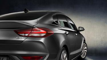 Hyundai i30 Fastback rear lights