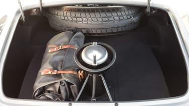 Ferrari 250 GT LWB California Spider Competizione - boot open