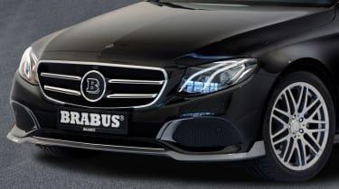 Mercedes E-Class Brabus 2017 - front detail 2