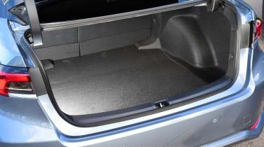 Toyota Corolla saloon  - boot