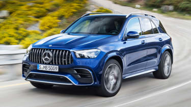 Mercedes-AMG GLE 63 S - front action