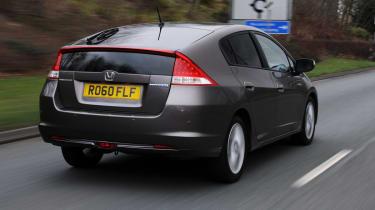 Honda Insight rear tracking