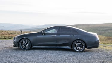 Mercedes CLS prototype - side static