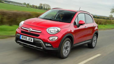 Used Fiat 500X - front action