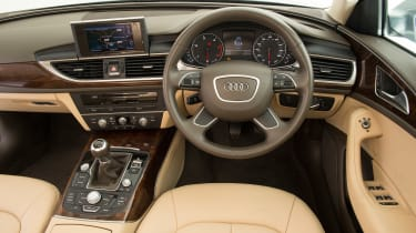 Used Audi A6 - dash